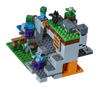 LEGO Minecraft (21141). La caverna dello Zombie - 3