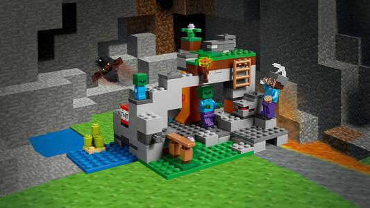 LEGO Minecraft (21141). La caverna dello Zombie - 4