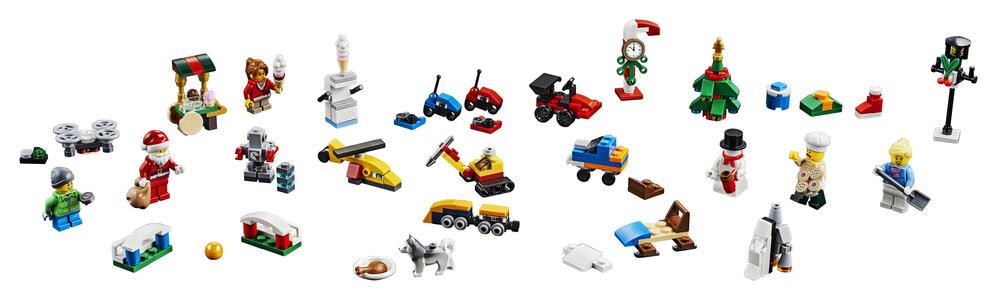 LEGO City Town (60201). Calendario dell'avvento - 2