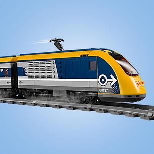 LEGO CITY TRENO PASSEGGERI Stazione Ferroviaria piattaforma e segnale da 60197-NUOVO