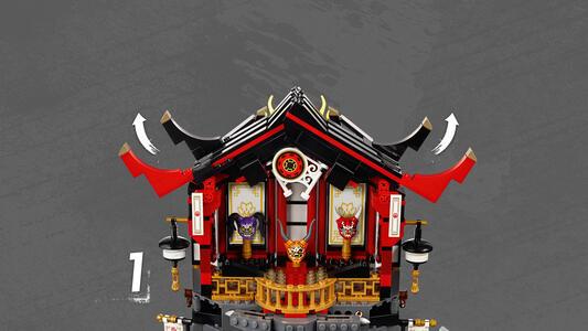 LEGO Ninjago (70643). Il Tempio della Resurrezione - 2