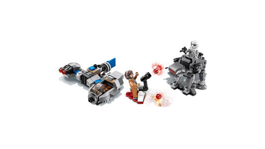 LEGO Star Wars (75195). Ski Speeder contro Microfighter First - 2