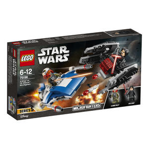 LEGO Star Wars (75196). A-Wing contro Microfighter TIE Silencer