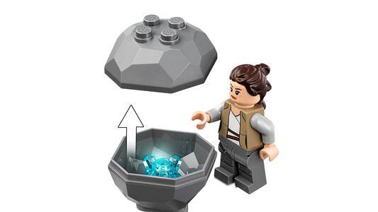 LEGO Star Wars (75200). Addestramento ad Ahch-To Island - 2