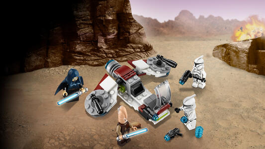 LEGO Star Wars (75206). Battle Pack Jedi e Clone Troopers - 5