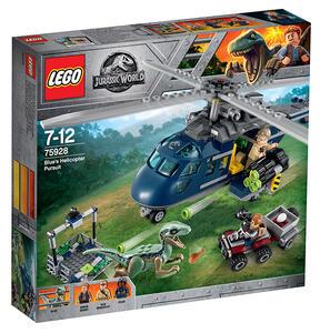 LEGO Jurassic World (75928). Inseguimento sull'elicottero di Blue