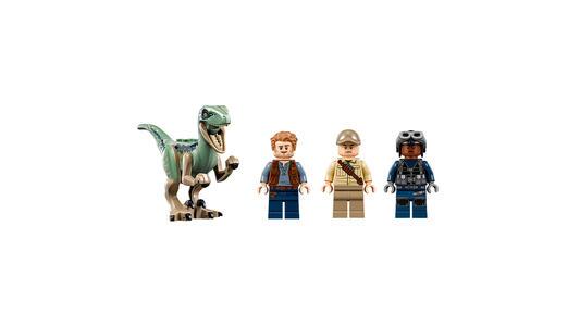 LEGO Jurassic World (75928). Inseguimento sull'elicottero di Blue - 4