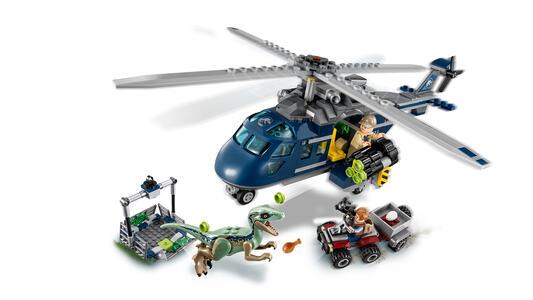 LEGO Jurassic World (75928). Inseguimento sull'elicottero di Blue - 5