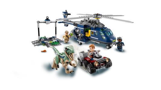 LEGO Jurassic World (75928). Inseguimento sull'elicottero di Blue - 6