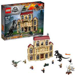 LEGO Jurassic World (75930). Attacco dell?Indoraptor al Lockwood Estate - 2