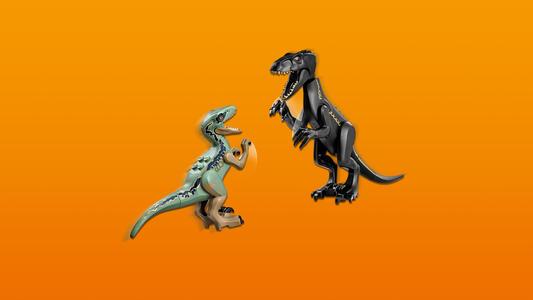 LEGO Jurassic World (75930). Attacco dell?Indoraptor al Lockwood Estate - 6