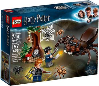 LEGO Harry Potter (75950). Il covo di Aragog