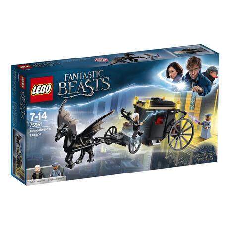 LEGO Harry Potter (75951). La fuga di Grindelwald
