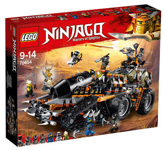 LEGO Ninjago (70654). Turbo-cingolato