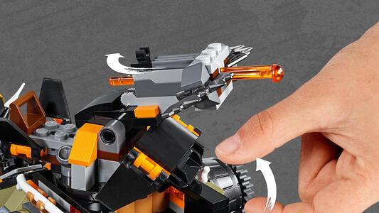 LEGO Ninjago (70654). Turbo-cingolato - 2