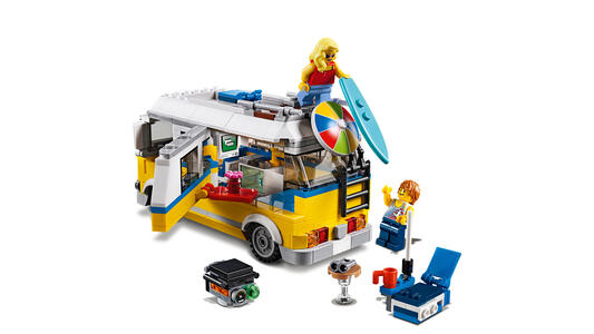 LEGO Creator (31079). Surfer van giallo - 2