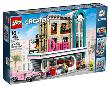 LEGO Creator Expert (10260). Downtown Diner