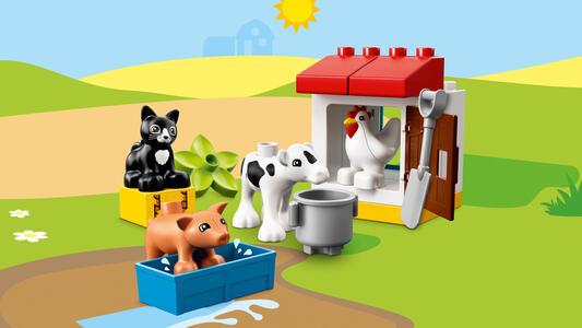 LEGO DUPLO Town (10870). Animali della fattoria - 3