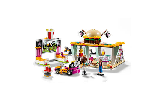 LEGO Friends (41349). Il fast-food del go-kart - 2
