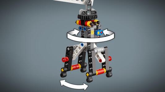 LEGO Technic (42080). Macchina forestale - 2