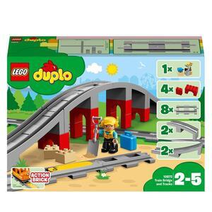 LEGO Duplo (10872). Ponte e binari ferroviari