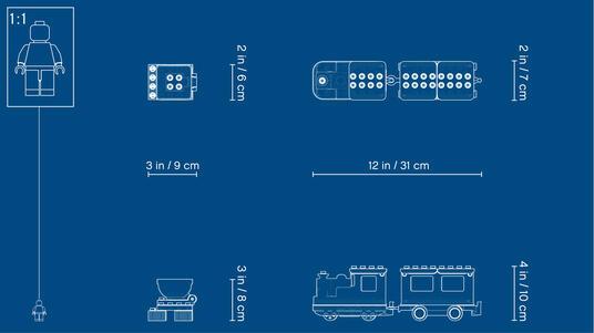 LEGO Duplo (10874). Treno a vapore - 12