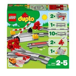 LEGO Duplo (10882). Binari ferroviari