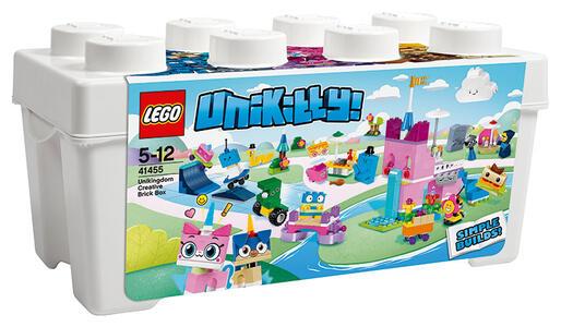 LEGO Unikitty (41455). Scatola di mattoncini creativi Unikingdom