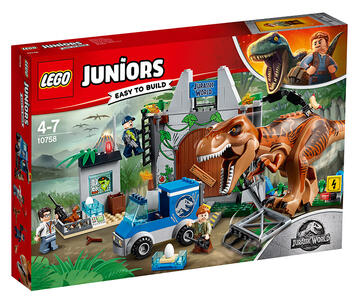 LEGO Juniors (10758). L?evasione del T. rex