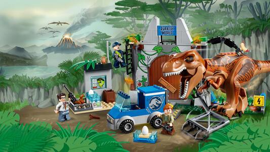 LEGO Juniors (10758). L?evasione del T. rex - 4