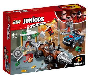 LEGO Juniors (10760). Gli Incredibili. Rapina in banca del minatore