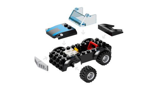 LEGO Juniors (10760). Gli Incredibili. Rapina in banca del minatore - 2