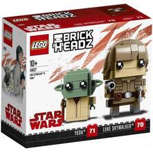 LEGO Brickheadz (41627). Luke Skywalker & Yoda