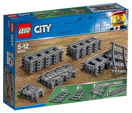 LEGO City (60205). Binari