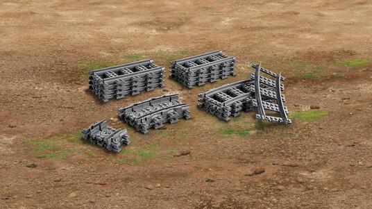LEGO City (60205). Binari - 4
