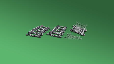 LEGO City (60205). Binari - 5
