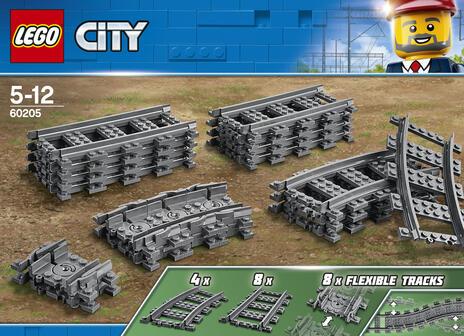 LEGO City (60205). Binari - 9