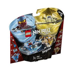 LEGO Ninjago (70663). Nya e Wu Spinjitzu