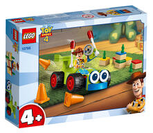 LEGO Juniors (10766). Toy Story 4: Woody e RC
