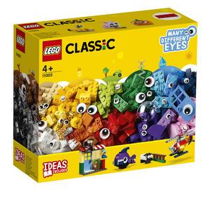 LEGO Classic (11003). Mattoncini e occhi