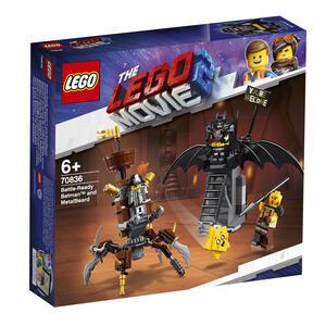 LEGO Movie (70836). Batman pronto alla battaglia e Barbacciaio