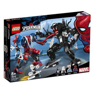 Lego Super Heroes (76115). Mech di Spider-Man vs. Venom