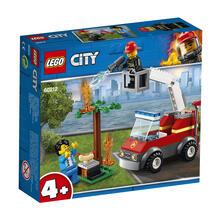 LEGO City Fire (60212). Barbecue in fumo