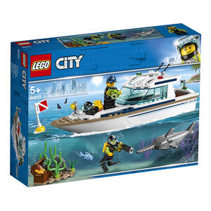 LEGO City Great Vehicles (60221). Yacht per immersioni