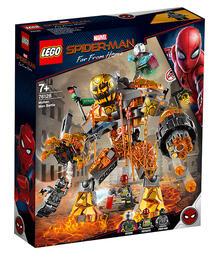 Lego Super Heroes (76128). La Battaglia Di Molten Man
