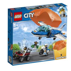 LEGO City Police (60208). Arresto con il paracadute della Polizia aerea