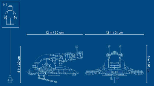 LEGO Star Wars (75243). Slave I. Edizione 20° Anniversario - 2