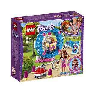 LEGO Friends (41383). L'area gioco del criceto di Olivia