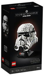 LEGO Star Wars (75276). Casco di Stormtrooper
