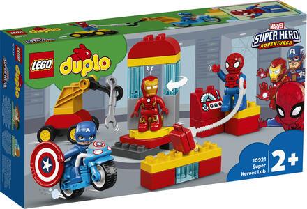 Giocattolo LEGO DUPLO Super Heroes (10921). Il laboratorio dei supereroi LEGO